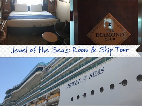 JEWEL OF THE SEAS | ROOM & SHIP TOUR | AUGUST 2017