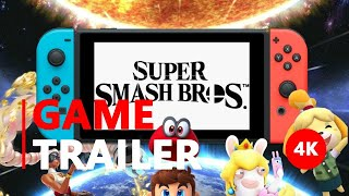 Super Smash Bros. Ultimate - More Fighters, More Battles, More Fun - Nintendo Switch | 4K