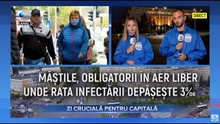 Stirile Kanal D (13.10.2020) - Halucinant! Rata de infectare, micsorata din pix! | Editie de seara