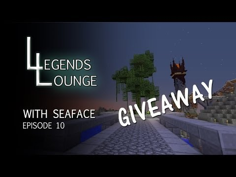 """Legends Lounge :: Minecraft :: Ep 10 :: """"GIVEAWAY TIME!!!"""""""