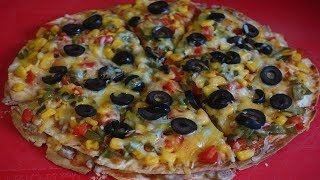Mexican Pizza || Sangeeta's World