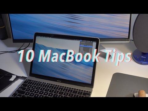 10 MacBook (2016) tips