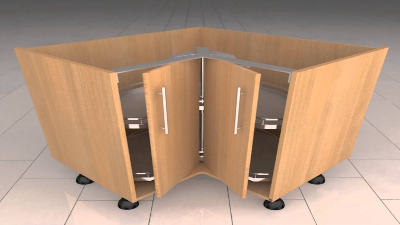 delightful Corner Unit Kitchen Cabinet #6: Diy Kitchenscom Corner Unit Planning Youtube . Kitchen Cabinets ...
