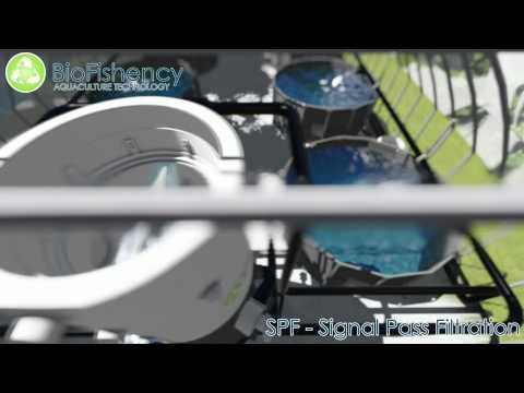 All-in-one water treatment system for aquaculture -- BioFishency