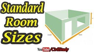 Standard Room Sizes - Room Sizes - Standard Sizes For Building Room, Kitchen, Bathroom In Urdu/Hindi