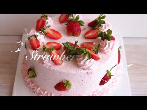How To Make A Strawberry Cake :: Pastry Pleasures