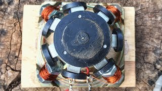 Powerful Free Energy Generator 100% Using Speaker Magnet Self Running With DC Motor | At Home
