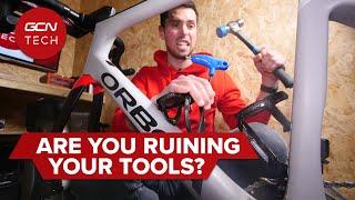 도구를 망치고 있습니까? | 자전거 정비 워크숍을 돌보는 방법