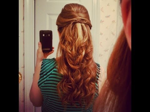 Beautiful Half Up Down Hairstyle