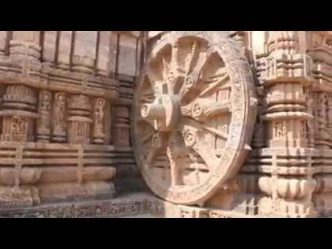 Sundial at Konark Sun Temple