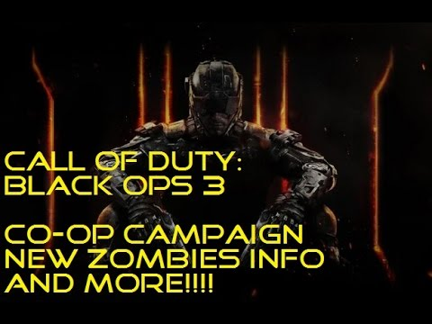 How To Unlock Call Of Duty Black Ops 3 Zombie Campaign ...