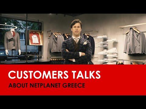 Vasilis Tsitsigias 💣 Tailor Italian Wear, C.E.O. 💣 talks about NetPlanet Greece