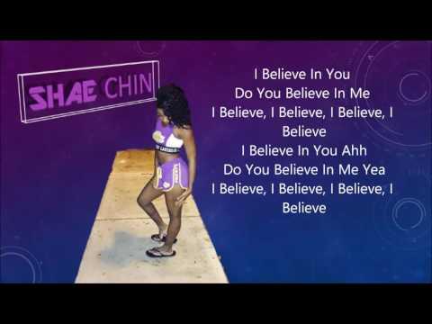 Shae Chin - I Believe (Lyrics)