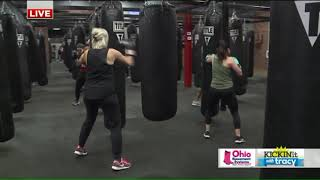 Fox 8's Tracy McCool takes a swing at TITLE Boxing Club