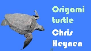 Origami Leatherback Seaturtle By Chris Heynen
