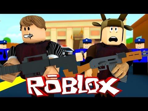 Roblox Adventures / Notoriety! / BANK HEIST IN ROBLOX!