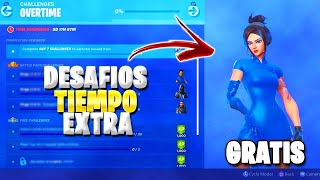 🔴COMPLETE ALL *EXTRA TIME CHALLENGES* NEW STYLE SKIN DEMI (NIGHT) FORTNITE DIRECT🔴