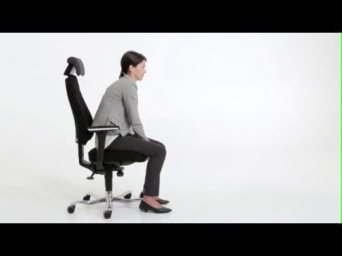 Kinnarps 6000 / 8000 Task Chair  Operating Instructions