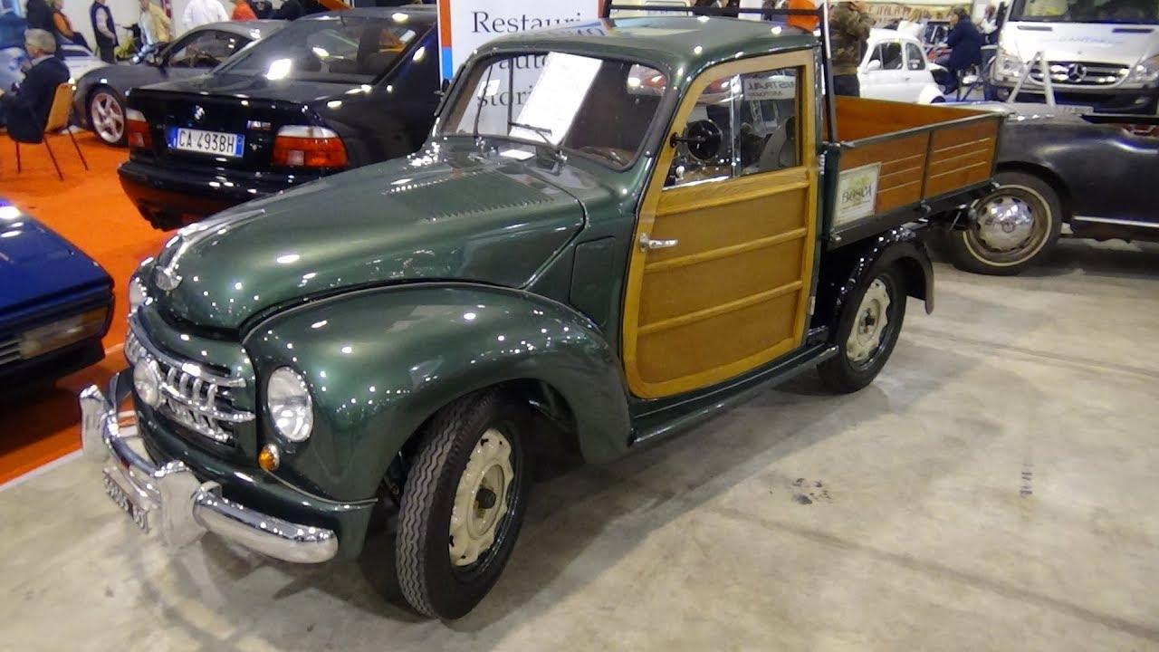 1953 Fiat 500 Topolino Cassone