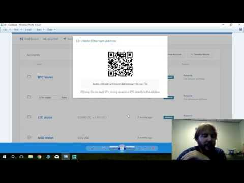 703 - How to Send Ether from Coinbase to your house or Ether Wallet, and verify transactions