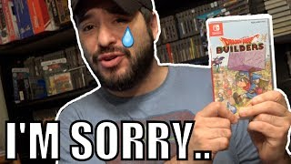 I AM SORRY THIS REVIEW IS LATE. *NOT CLICKB8* Dragon Quest Builders for Nintendo Switch | 8-Bit Eric