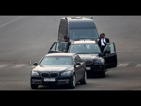 നരേന്ദ്ര മോദിയുടെ അത്യാധുനിക സുരക്ഷ   SPG Security   Modi Kafila   Protocol