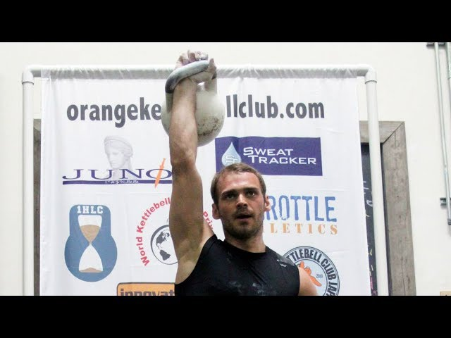 HMS Aleksandr Khvostov | Snatch with the 40 kg kettlebell 100 reps (California, 2014)