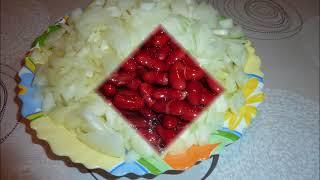 Постное блюдо Ленивое лобио. Очень быстро и очень вкусно.