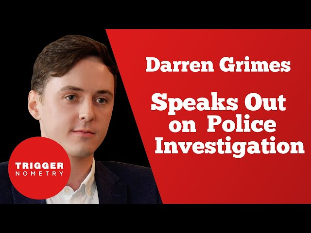 Darren Grimes Speaks Out on Police Investigation