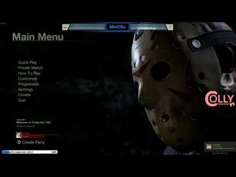MinORu - Live Friday the 13th: The Game 02/6/17