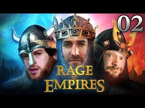 Rage Of Empires mit Marco & Donnie #02 | Age Of Empires 2 HD bei Rocket Beans TV deutsch