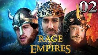 Rage Of Empires mit Donnie, Florentin & Marco #02 | Age Of Empires 2 HD bei Rocket Beans TV deutsch