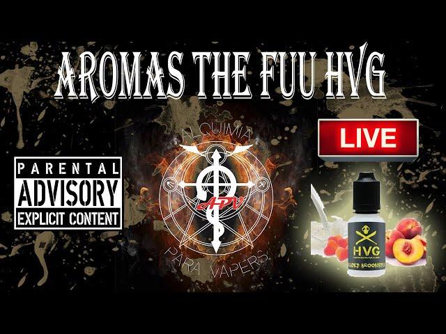 APV 98. Revisión aromas The Fuu - HVG. Con Nereida.