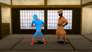 Animation only Iga Ninja Origin Eps1 Hebring Shoryudo Adventure