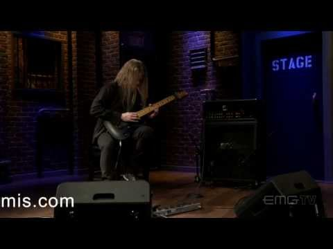 Jeff Loomis brings new meaning to metal with Sibylline Origin on EMGtv