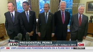Ex-Presidents cost taxpayers millions