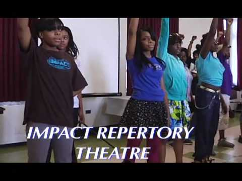 Impact Repertory Theatre - Performance at Mumia Book Release Party in Harlem