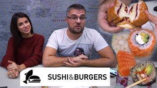Обзор доставки Sushi and Burgers Санкт-Петербург. Проверяем топов северной столицы;) #PRostoEda
