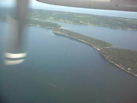 Landing At Nanaimo Airport