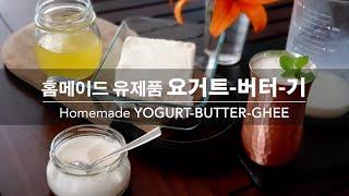 [커리왈라의 인도요리] 홈메이드 유제품 시리즈, 요거트…