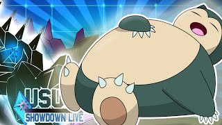 Pokemon Showdown Live Ultra Sun and Moon #84 [Ou] - Re Snorlax