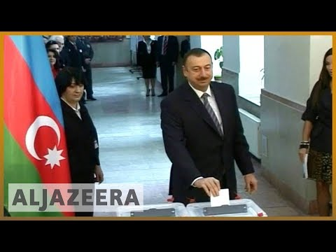 🇦🇿 Azerbaijan's Aliyev set to win poll boycotted by opposition | Al Jazeera English