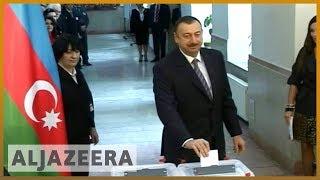 🇦🇿 Azerbaijan's Aliyev set to win poll boycotted by opposition | Al Jazeera English
