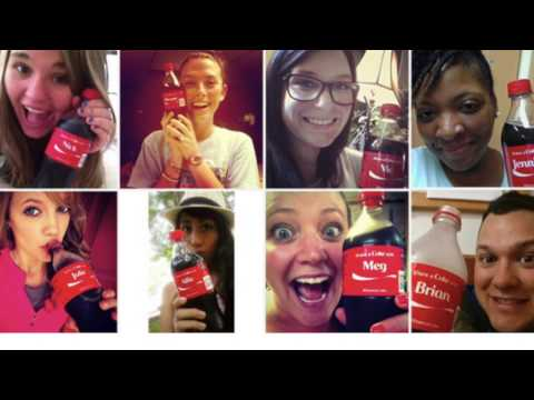 Share a coke advertising campaign analysis : Mariangela Vurchio , Madalina Trif, Silvia Opris