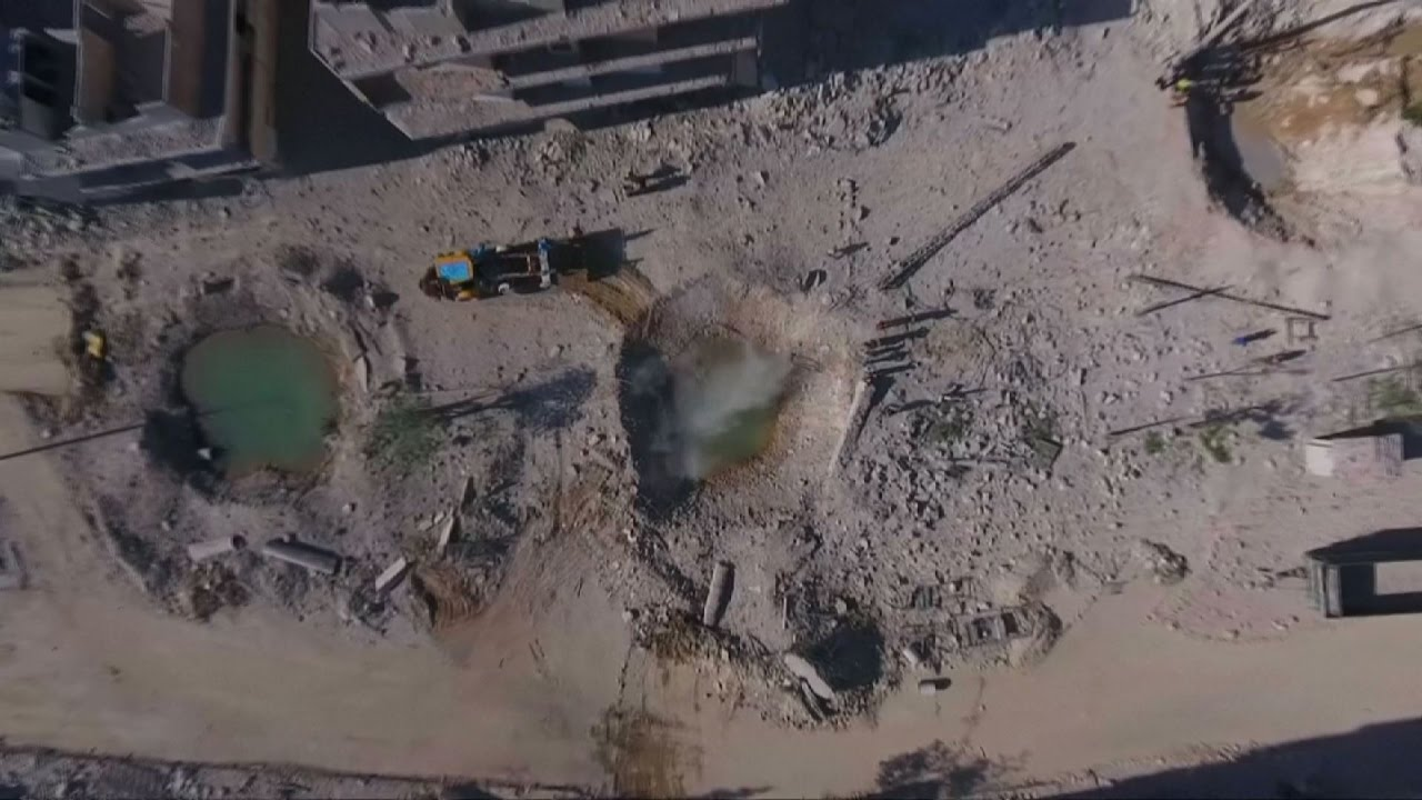 Decimation Of Eastern Aleppo Revealed In Drone Footage