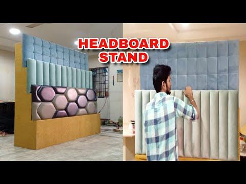 beautiful headboard stand