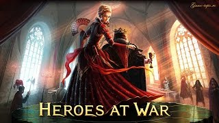 Браузерная игра Heroes at War Gameplay