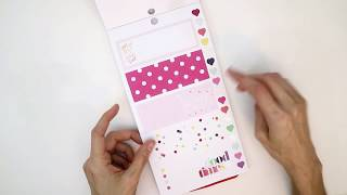 Mini Happy Planner Sticker Book Flip Through Choose Happy