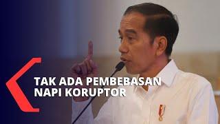 Gambar cover Tak Ada Napi Koruptor yang Bebas, Jokowi: Hanya Untuk Napi Pidana Umum