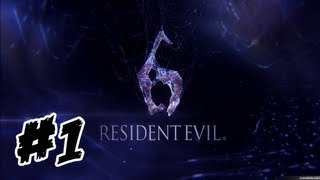 Resident Evil 6 | Walkthrough | Español | Parte 1 | (X360/PC/PS3) [HD]
